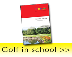 Golf in school