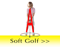 Soft golf equipment